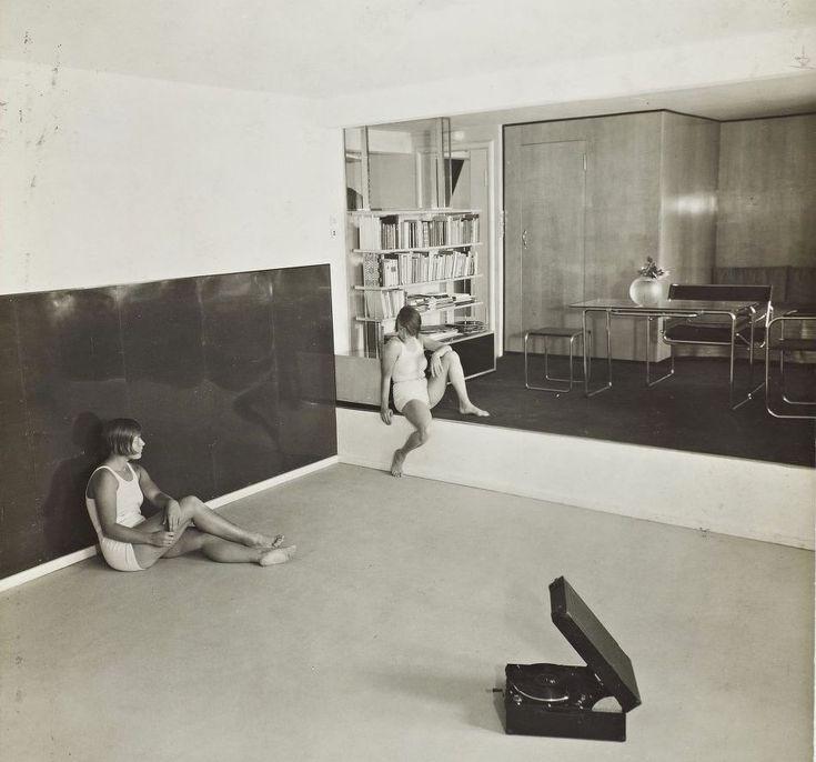 Marcel Breuer, apartment for a gymnastics teacher, Berlin, 1930
