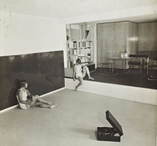 Marcel Breuer, apartment for a gymnastics teacher, Berlin, 1930
