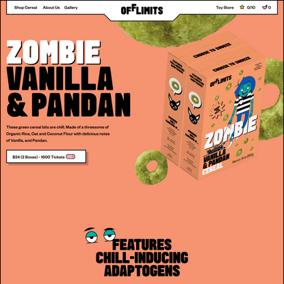OffLimits | ZOMBIE CEREAL