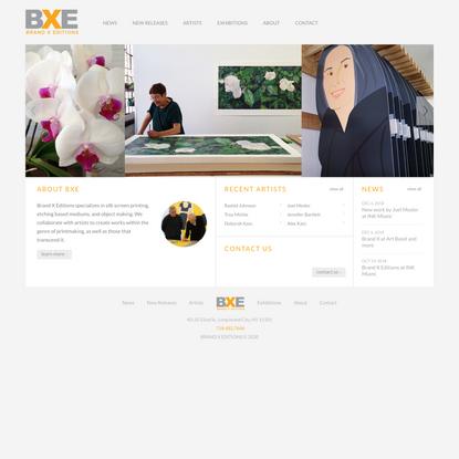 Brand X Editions | Silk-Screen Printing