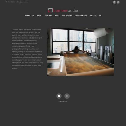 Laumont Photographics | NYC's Premier Fine Art Collaborative Print Studio