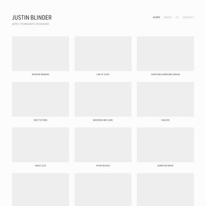Justin Blinder