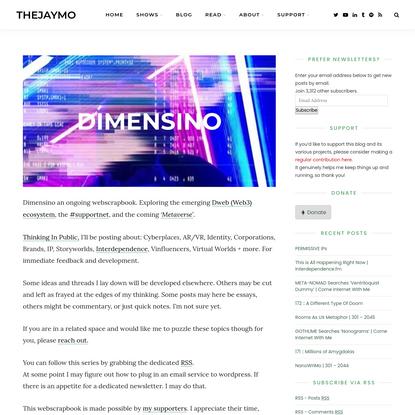 Dimensino - thejaymo