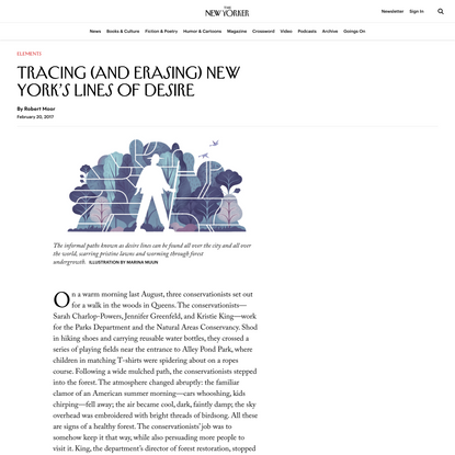 Tracing (and Erasing) New York's Lines of Desire