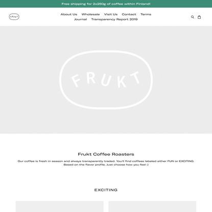 Frukt Coffee Roasters