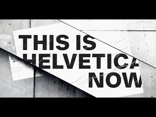 This is Helvetica Now