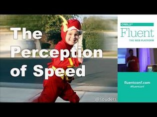 Steve Souders at Fluent 2014: The Perception of Speed