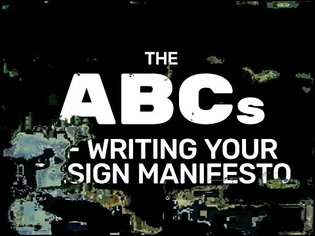 The ABCs of Writing Your Design Manifesto