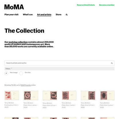The Collection   MoMA
