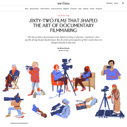 62 of the Best Documentaries of All Time   The New Yorker