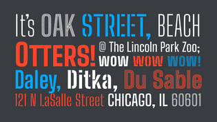 How Big Shoulders Came To Be Chicago's Official Typeface by  @xotypeco