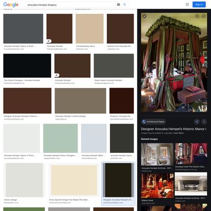 anouska hempel drapery - Google Search