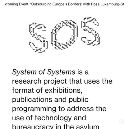 """""""www.systemofsystems.eu"""""""