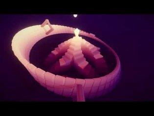 Beacon - A relaxing 'endless runner' atop a Möbius strip (GMTK Game Jam)
