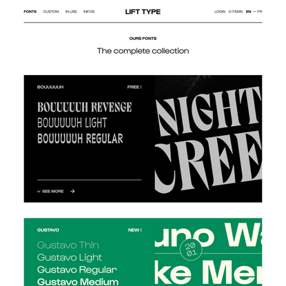 Archives des Typography — Lift Type