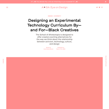 Designing an Experimental Technology Curriculum By—and For—Black Creatives