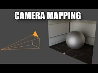 Blender 2.8 Camera mapping (projection) tutorial (how to make photo 3d)