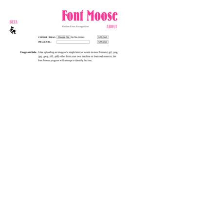 FontMoose Beta