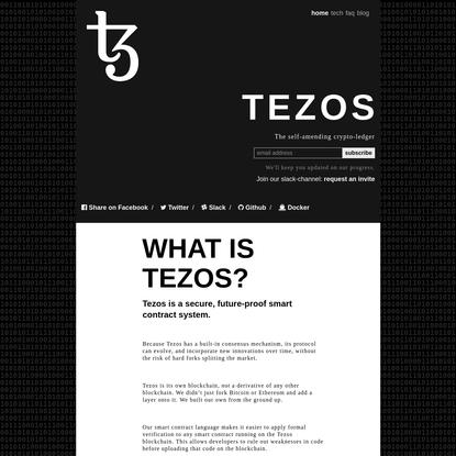 Tezos: a self-amending cryptographic ledger