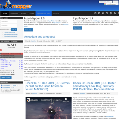 InputMapper - Home