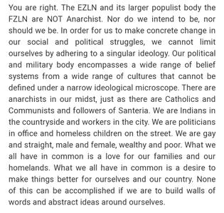 EZLN, FZLN, Zapatistas & Labels