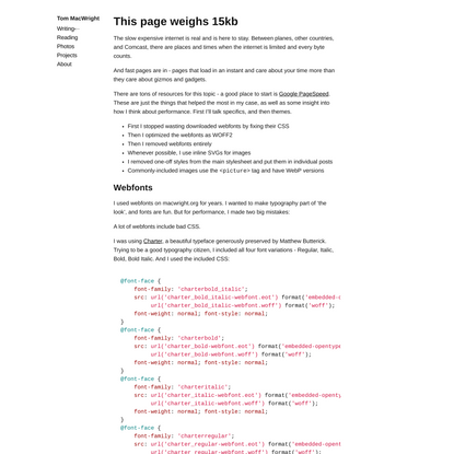 This page weighs 15kb