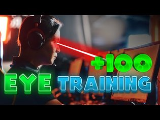 I Trained My Eyes for ONE WEEK! Did it help my aim? (Aim Guide)