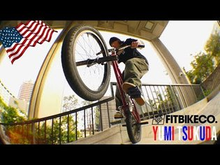 FitBikeCo. - Yumi Tsukuda in the USA