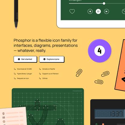Phosphor Icons