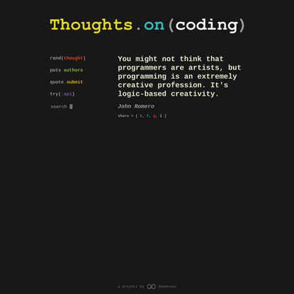 Thoughts.on(coding)