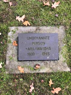 unbekannte person