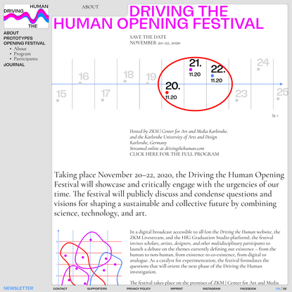 About · Driving the Human