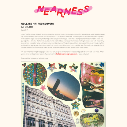Nearness | Collage Kit: Rediscovery