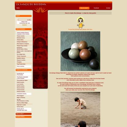 How to make Dorodango - Magiedubouddha.com