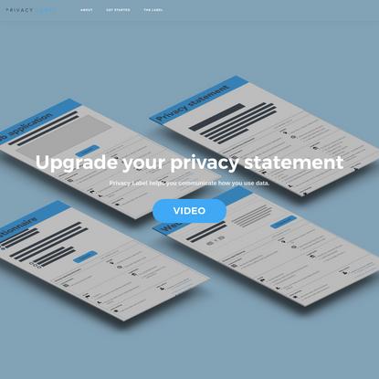 Privacy Label