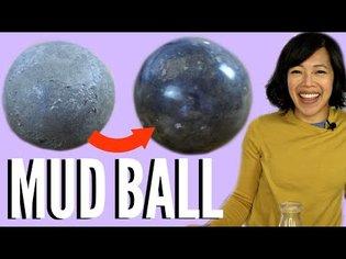 How to Make a Shiny MUD BALL | DIY Dorodango - Japanese Polished Clay Ball