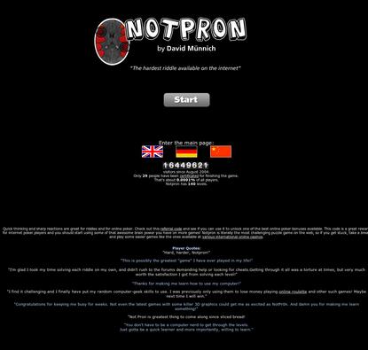 Notpron
