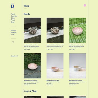 danielle yukari — Shop