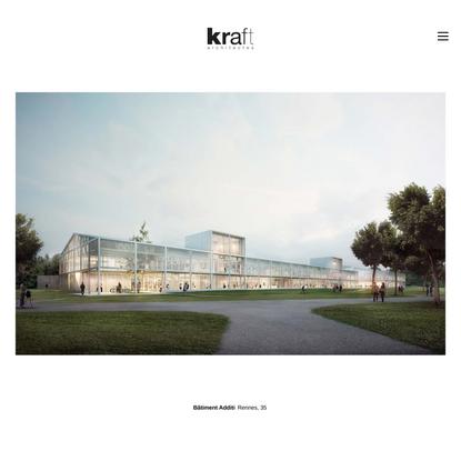 Bâtiment Additi Rennes, 35 | kraft architectes