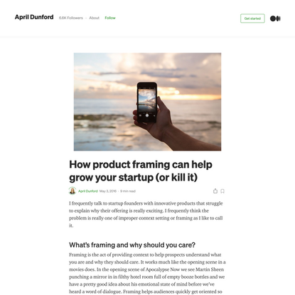 How product framing can help grow your startup (or kill it)