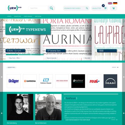 Buy fonts: Download fonts, typefaces & webfonts