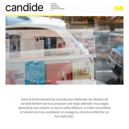 Librairie Candide
