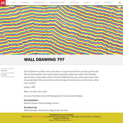 Wall Drawing 797