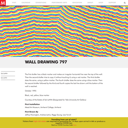 Wall Drawing 797