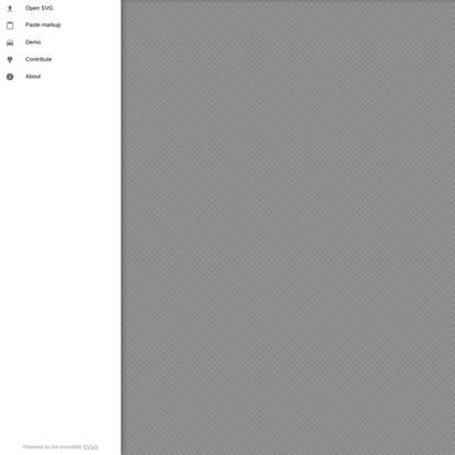 SVGOMG - SVGO's Missing GUI