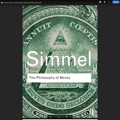 Simmel, Georg - The Philosophy of Money, 3rd edition (2011).pdf