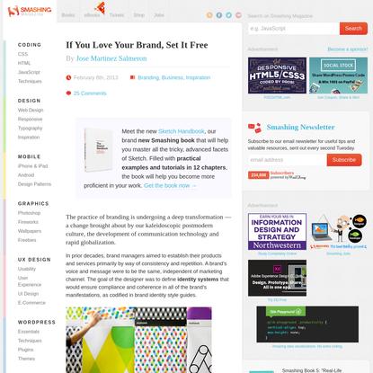 If You Love Your Brand, Set It Free - Smashing Magazine