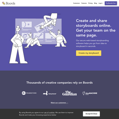 Free Online Storyboard Creator | Boords
