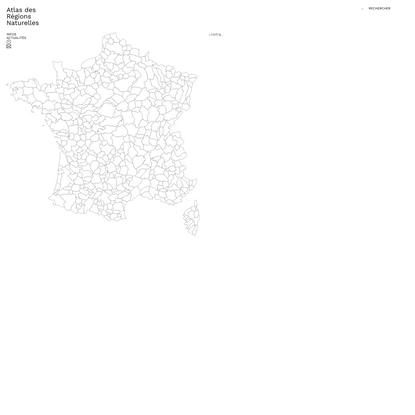 Atlas Des Régions Naturelles