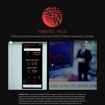 Pandemic Pulse